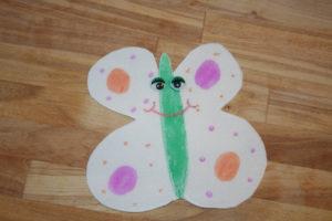 Making Puppets - Butterflies