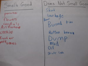 Good and Bad Smells